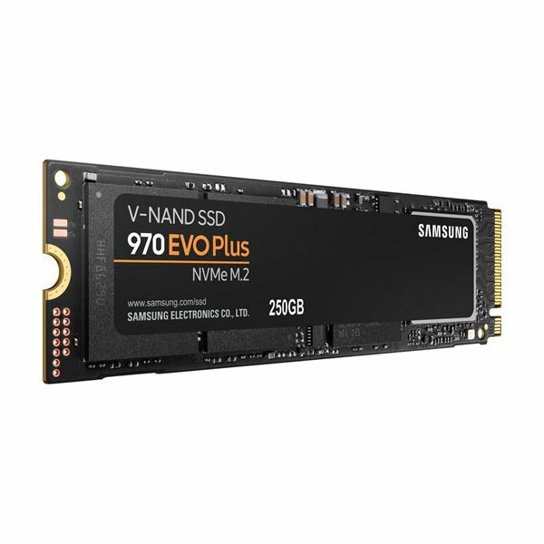 Picture of SSD disk  250 GB NVME M.2 970 EVO PLUS Samsung