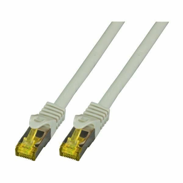 SFTP kabel CAT7 0,25m siv EFB LSOH