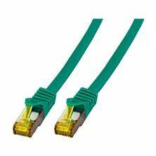 SFTP kabel CAT7 0,25m zelen LSOH EFB