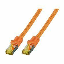 SFTP kabel CAT7 0,25m oranžen EFB LSOH