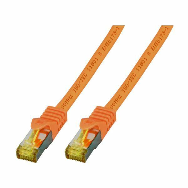 SFTP kabel CAT7 0,5m oranžen EFB LSOH