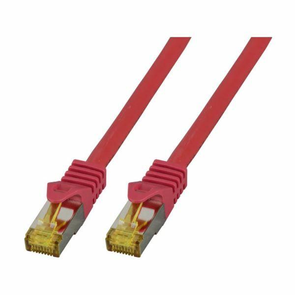 SFTP kabel CAT7 0,5m rdeč EFB LSOH