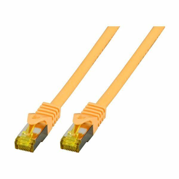 SFTP kabel CAT7 0,5m rumen EFB LSOH