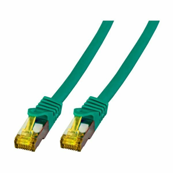 SFTP kabel CAT7 7,5m zelen EFB LSOH