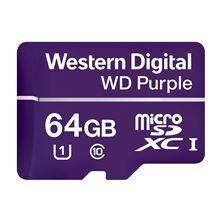 Pomnilniška kartica micro SD XC 64GB WD Purple