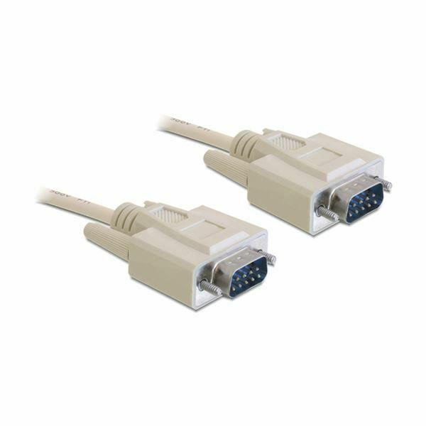 Serijski kabel RS232 DSUB 9 10m Delock