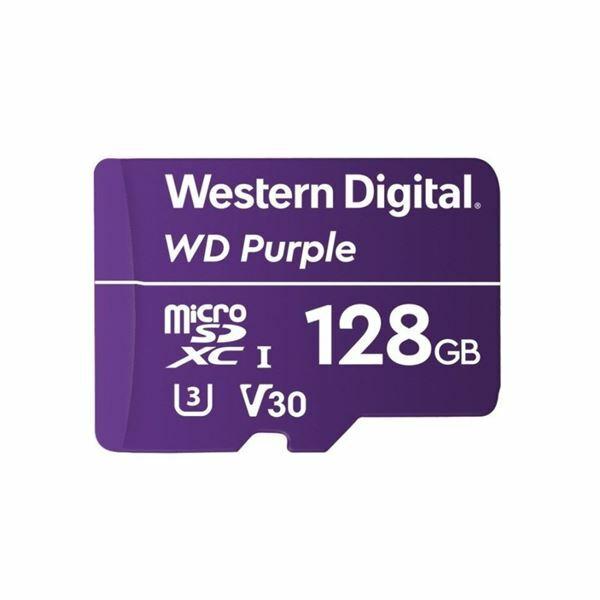Pomnilniška kartica micro SD XC 128 GB WD Purple