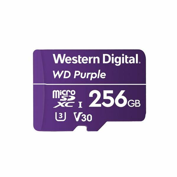 Pomnilniška kartica micro SD XC 256GB WD Purple
