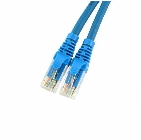 UTP kabel CAT6 2m modri Leviton LSOH