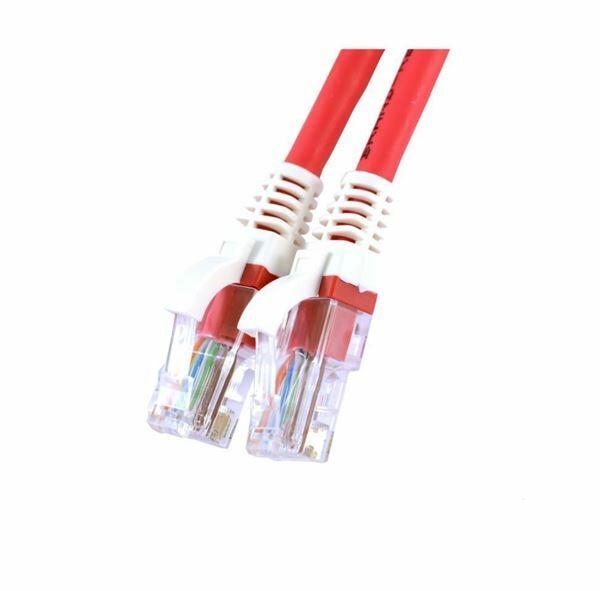 UTP kabel CAT5e 1m rdeč Leviton LSOH