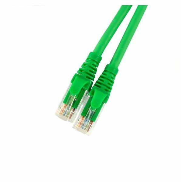 UTP kabel CAT6 3m zelem Leviton LSOH