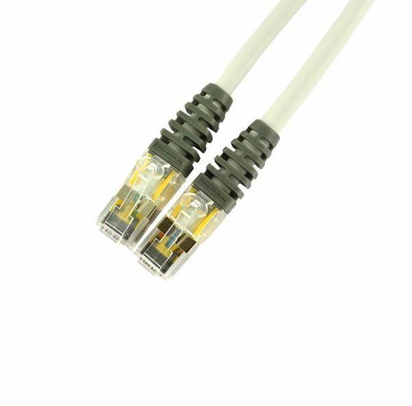 SFTP kabel CAT6 3m siv Leviton