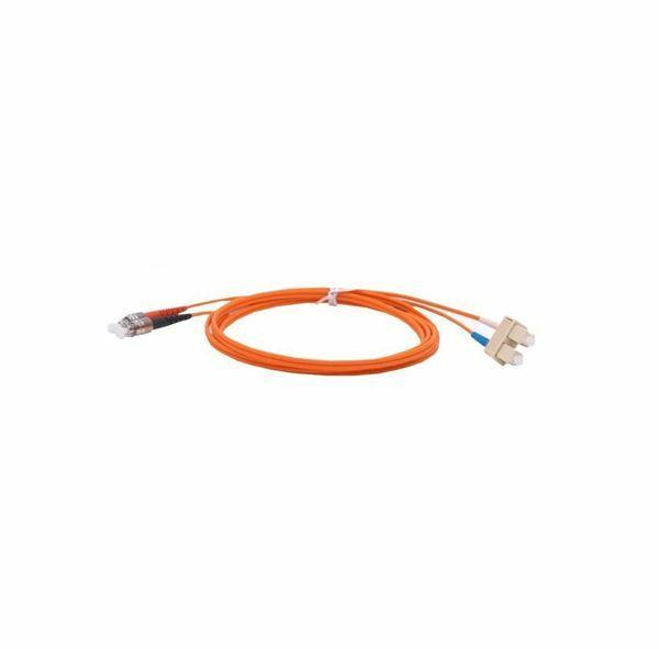 Optični kabel MM OM2 2m oranžen Duplex Leviton