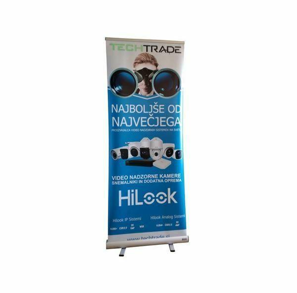 Prodajno stojalo HiLook RollUp
