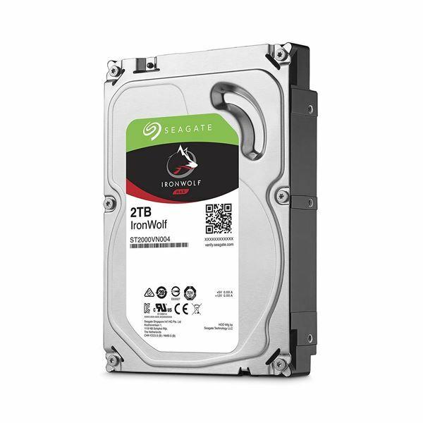 Trdi disk 2TB Seagate IronWolf 64MB SATA III-600