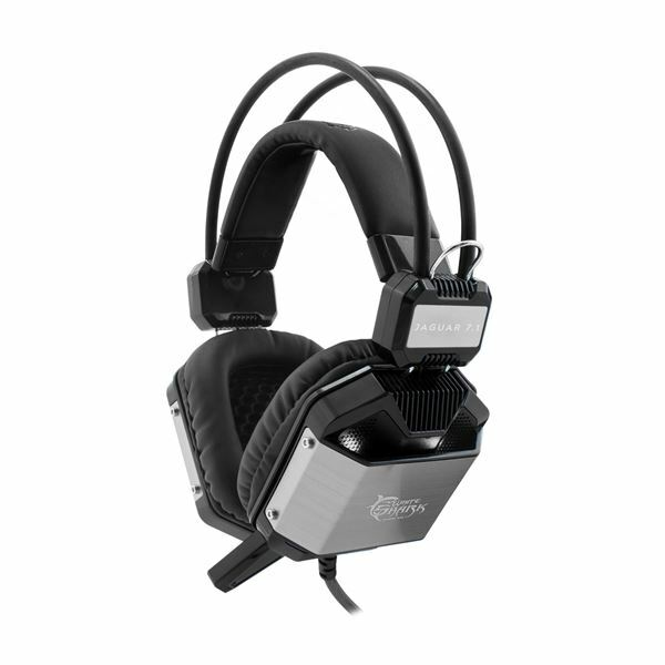 Slušalke in mikrofon GH-1646 JAGUAR White Shark
