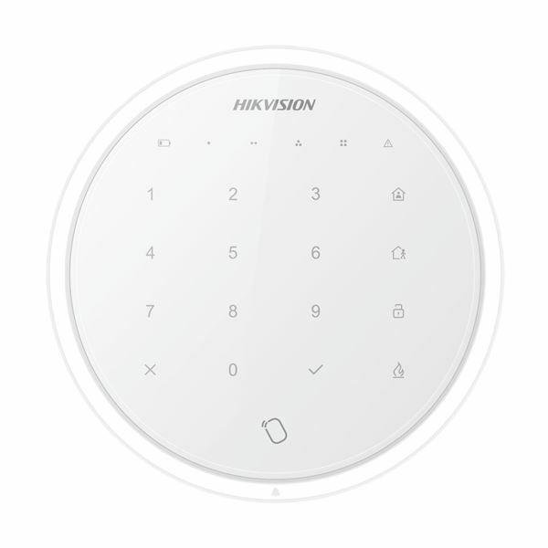 Pametna tipkovnica RFID brezžična DS-PKA-WLM-868 bela Hikvision
