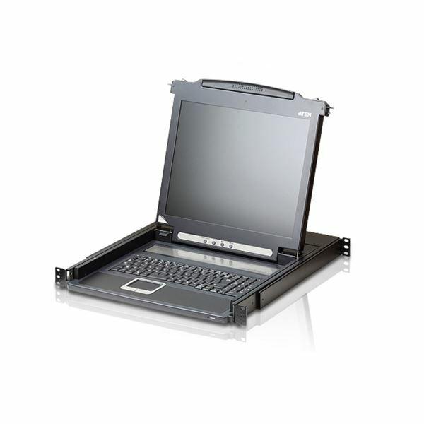"""KVM konzola LCD CL1000N 19"""" monitor Aten"""
