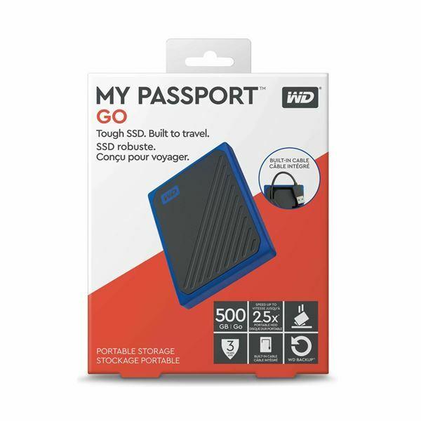 Zunanji SSD disk WD My Passport GO 500GB