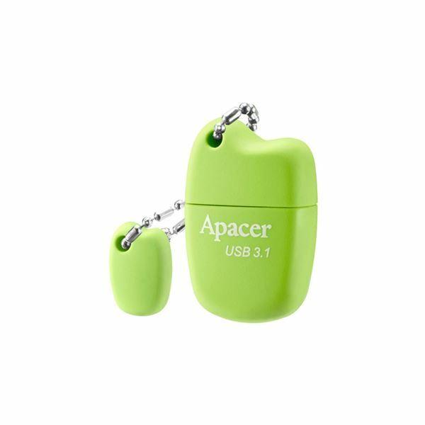 Picture of USB 3.1 ključ    64GB  AH159 APACER super mini, zelen