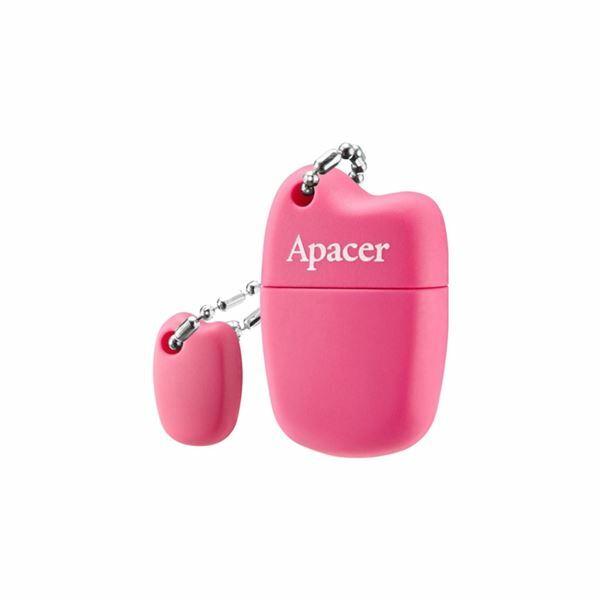 Picture of USB ključ  64GB  AH118 APACER super mini, roza