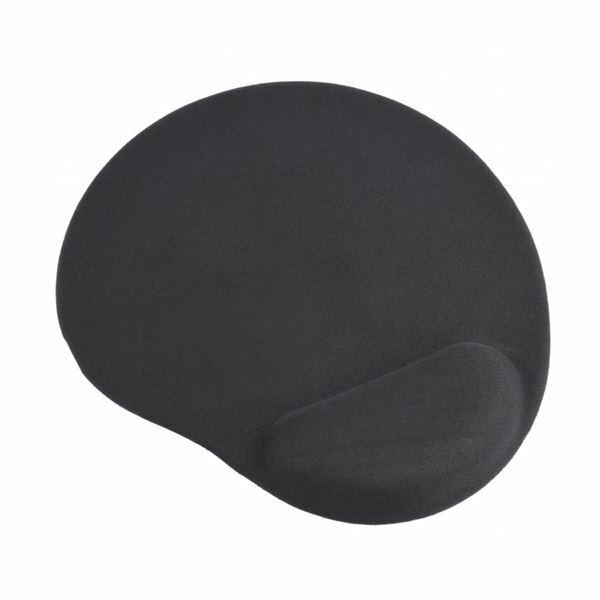 Podloga za miško z gelom črna Gembird MP-GEL-BK