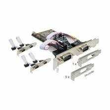 Kartica PCI Express 6xRS232 Delock 89347