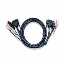 Set kablov ATEN 2L-7D05UD DVI-D/USB/AVDI 5m