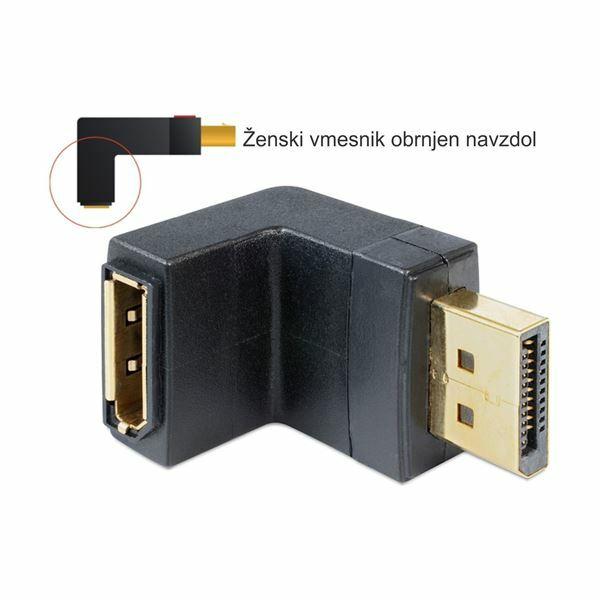 Adapter DisplayPort - DisplayPort kotni Delock 65382