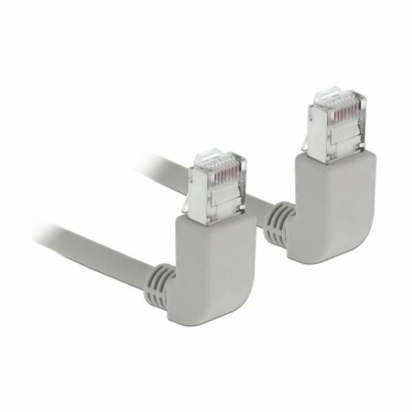 SFTP kabel CAT6 0,5m siv kotni Delock 83520