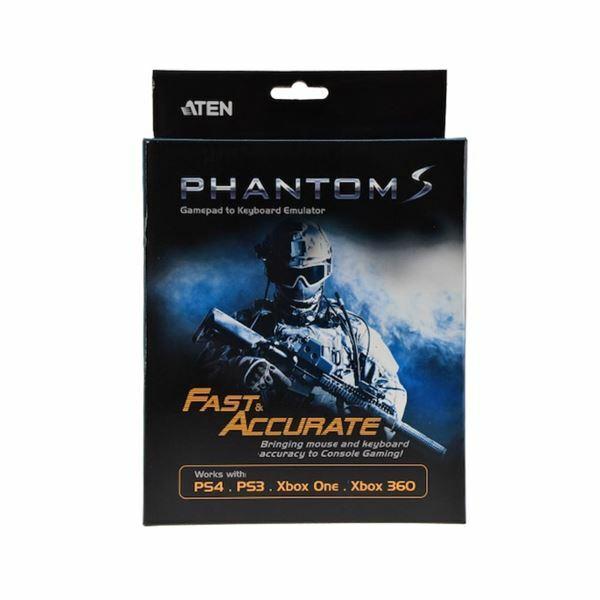 Picture of Pretvornik PHANTOM-S gaming za igralne konzole - tipkovnica, miška Aten