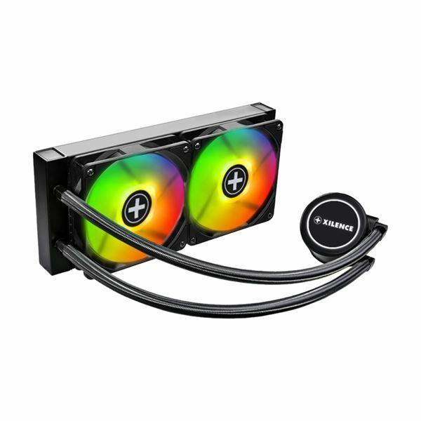 Ventilator-CPU AMD AM/FM/TR + Intel LGA vodno hlajenje XC976 Xilence