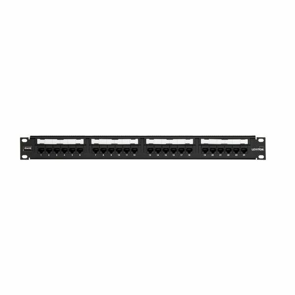 UTP panel CAT6+ 24-P Flat Leviton