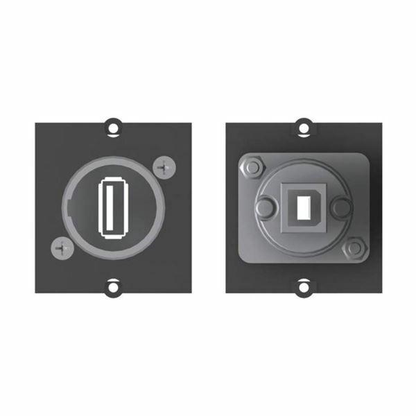 BAC-Modul USB A-B 2.0 Bachmann