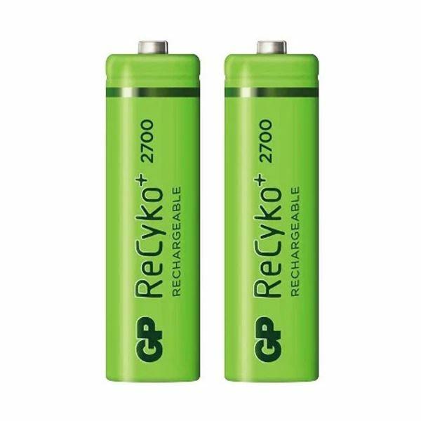 Baterija polnilna AA-2700 mAh Ni-Mh GP 2 kom