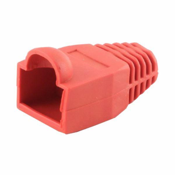 Zaščitna plastika za RJ45 rdeča Gembird