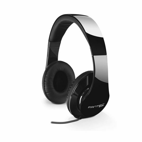 Slušalke stereo SHP-250AJ črno/črna Fantec
