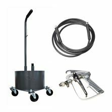 Razkužilni voziček za kanister 22l Ramsol komplet