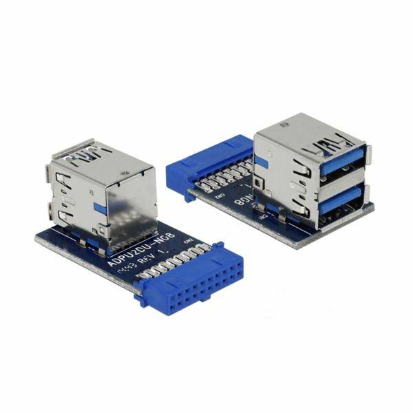 Adapter 2xUSB 3.0 Delock