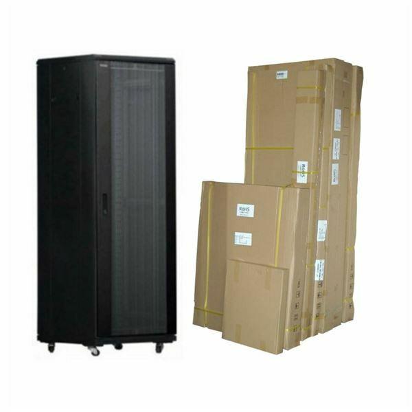 Kabinet 600x 600 27U 1388 TOTEN sestavljiv, G serija črn