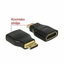 Adapter HDMI-C Mini M - HDMI Ž 4K Delock 65665