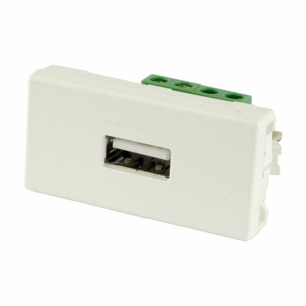 USB-A s konektorji bel Simon Connect