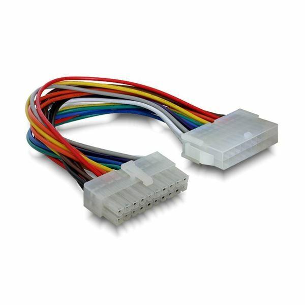 Adapter podaljšek ATX 20pin M/Ž 20cm Delock 82120