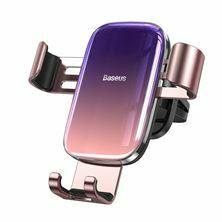 Nosilec univerzalni za mobilne telefone Glaze, gravitacijski pink Baseus SUYL-LG04