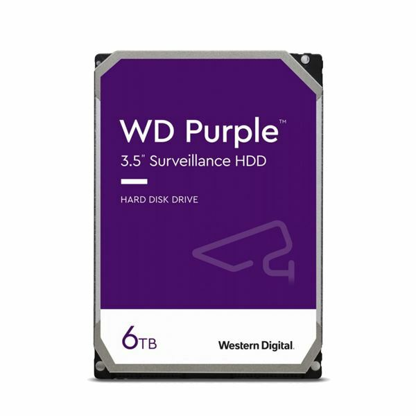 Trdi disk 6TB WD Purple SATA III, WD62PURZ