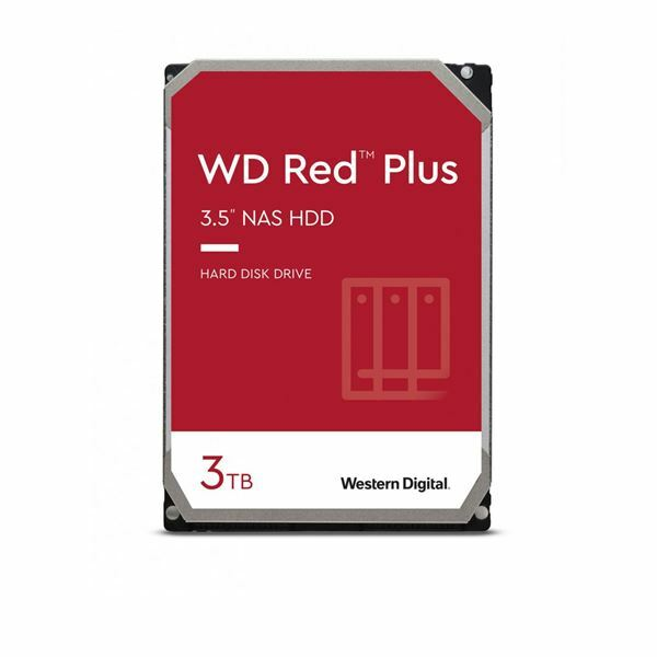 Trdi disk 9cm 3TB WD RED PLUS CMR 128MB, WD30EFZX