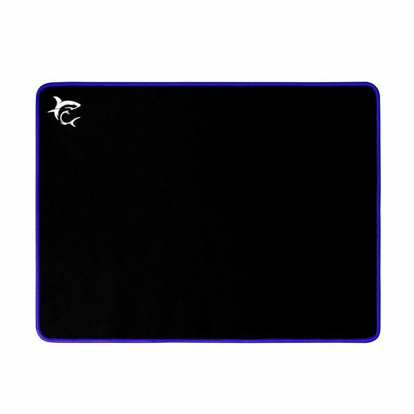 Podloga za miško tekstil WHITE SHARK GMP-2103 BLUE-KNIGHT črna/modra