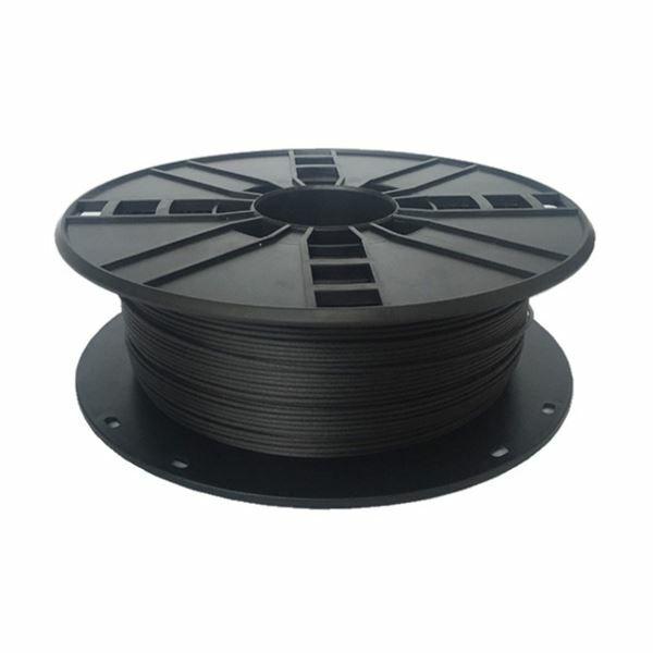 Polnilo PLA Carbon 1,75mm, 0,8kg Gembird 3DP-PLA1.75-02-CARBON