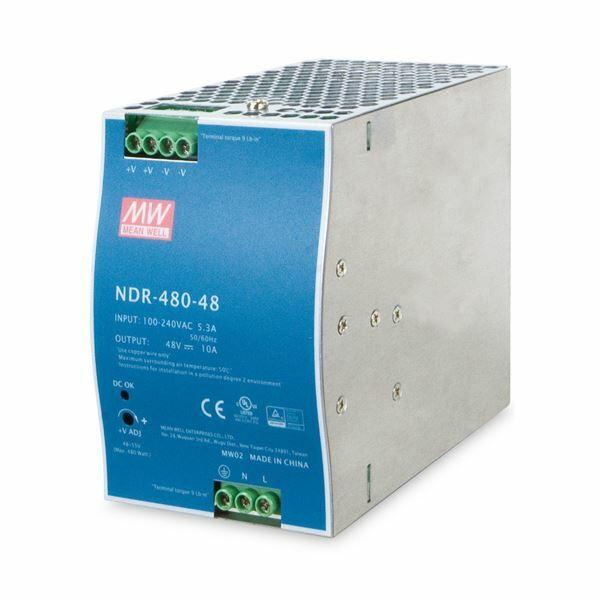 Napajalnik industrijski DIN 480W 48V DC Single Output Planet